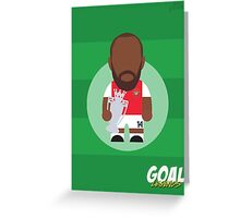 Thierry Henry Greeting Card