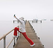 Morning excercise - Geelong by Hans Kawitzki