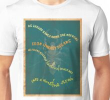 Book Quote - Metamorphosis by Franz Kafka Unisex T-Shirt