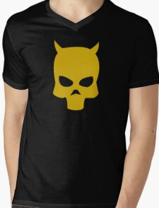 Deathwish Skull Mens V-Neck T-Shirt