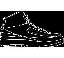 Air Jordan 2 White Photographic Print