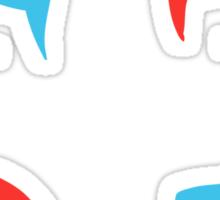 Coloured Mops Sticker