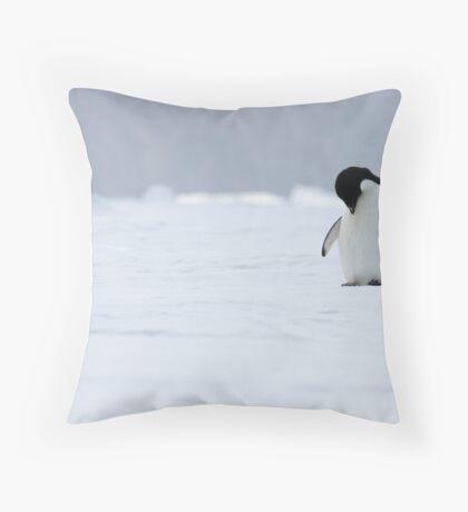 Solo Penguin 2 Throw Pillow
