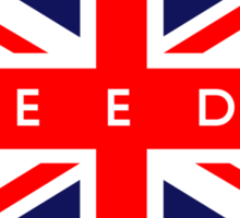 Leeds UK Flag Sticker