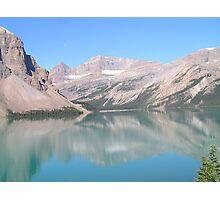 Bow Lake, Alberta 2 Photographic Print