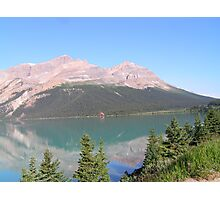 Bow Lake, Alberta 3 Photographic Print