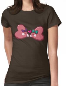 Sweet Luvdisc Smooches Womens Fitted T-Shirt