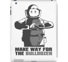 "Bulldozer - ""Make Way For The Bulldozer"" iPad Case/Skin"