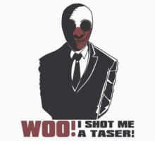 """Wolf - """"I Shot Me A Taser!"""" by Von-Grimm"""