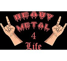 Heavy Metal 4 Life Photographic Print
