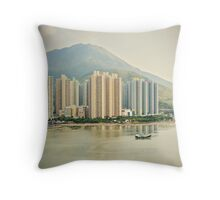 Tung Chung Bay Throw Pillow