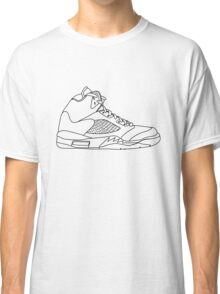 Air Jordan 5 Black Classic T-Shirt