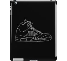 Air Jordan 5 White iPad Case/Skin