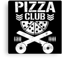 Pizza Club Canvas Print
