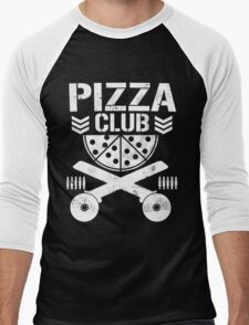 Pizza Club Men's Baseball ¾ T-Shirt