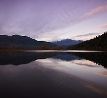 One Mile Lake by Tommy Au