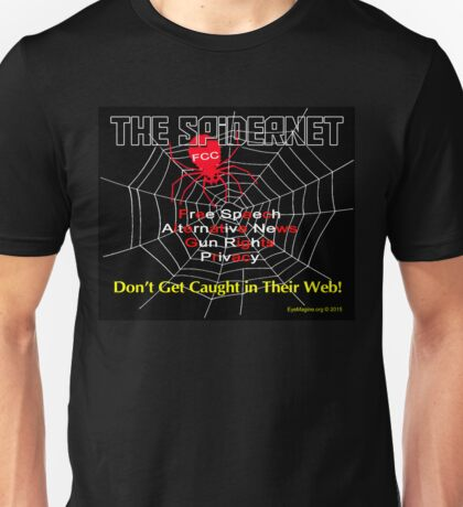 The Spidernet Unisex T-Shirt
