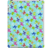Frogs Over Troubled Water iPad Case/Skin