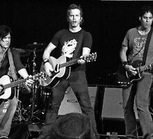 3 Of Keith Urban's Band Members - Heinz Field - 6/14/08 by Angela Lance