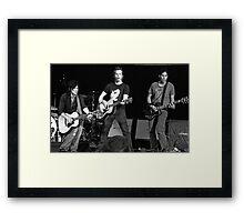 3 Of Keith Urban's Band Members - Heinz Field - 6/14/08 Framed Print