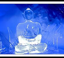The Great Budha in Ice by satwant