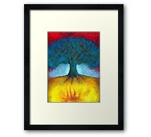 I Have In Me Fire Framed Print