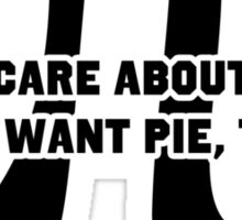 Pi Day Pie Day Sticker