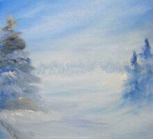 A Winterscape in Michigan by tusitalo
