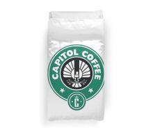 Capitol Coffee Duvet Cover