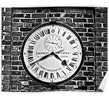 GMT Clock Poster