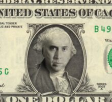 The Bank of Nick Cage Sticker