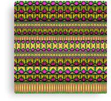 Tribal Stripe Canvas Print