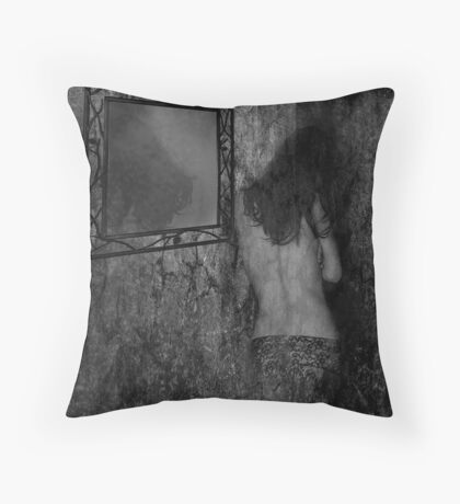 fade away... Throw Pillow