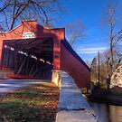 Kutz Mill Covered Bridge by Terence Russell