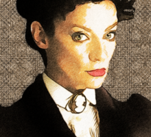 Missy (The Master / Mistress) Sticker
