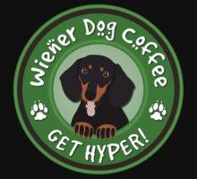 Wiener Dog Coffee - Get Hyper! Kids Tee