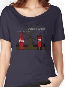 Im rubber, youre glue Women's Relaxed Fit T-Shirt