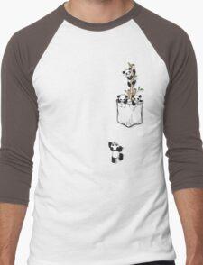 POCKET PANDAS Men's Baseball ¾ T-Shirt