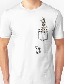POCKET PANDAS Unisex T-Shirt