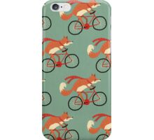 fox pattern iPhone Case/Skin