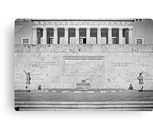Greek Parliament Canvas Print