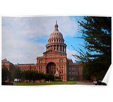 Texas State Capitol - Austin Texas USA Poster