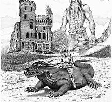 Dragon Rider by newmanarts