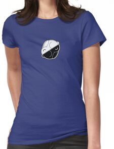 Yin Yang Bunnies Womens Fitted T-Shirt