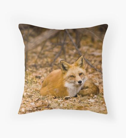 Hunting Is Hard Work Throw Pillow