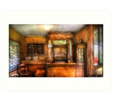 The Post Office Art Print