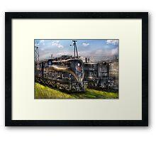 2-c-c-2 - Pennsylvania Railroad electric locomotive  #4919  Framed Print