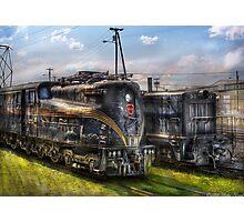 2-c-c-2 - Pennsylvania Railroad electric locomotive  #4919  Photographic Print