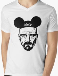 Walter Mouse Mens V-Neck T-Shirt