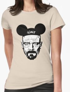 Walter Mouse Womens Fitted T-Shirt